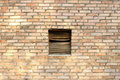 Free Ventilation Window On Brick Wall. Royalty Free Stock Photography - 6630557