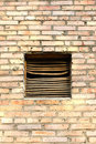 Free Ventilation Window On Brick Wall. Royalty Free Stock Images - 6630629