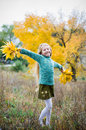 Free Cute Girl With Hands Open Royalty Free Stock Images - 6631589