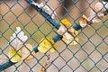Free Metal Net Fence Stock Photo - 6634930