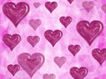 Free Pink Fuchsia Magenta Hearts Royalty Free Stock Images - 6639169