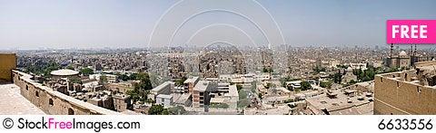 Free Cairo Panorama Royalty Free Stock Image - 6633556