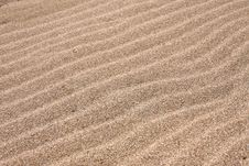 Free Waves Of The Sand. Royalty Free Stock Photos - 6630138