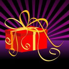 Free Christmas Present Box Stock Image - 6630221