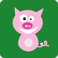 Free Illustration Of Pig Stock Image - 6630391