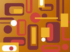 Free Colorful Retro Background Stock Images - 6630404