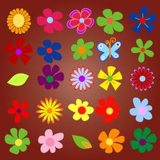 Free Colorful Spring Flowers Royalty Free Stock Photos - 6630418