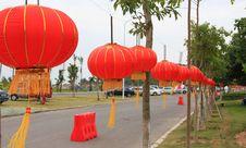 Free Red Lantern Stock Photography - 6630602