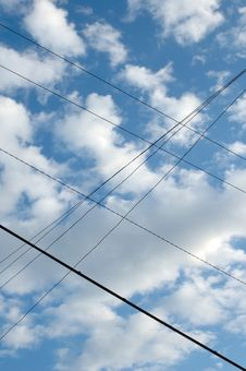 Free Wired Sky. Royalty Free Stock Image - 6630676