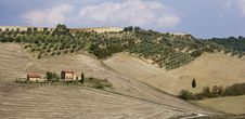 Free Tuscan Landscape, View On The Hills Stock Images - 6631274