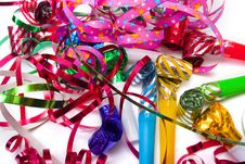 Free Party Blowers Stock Photos - 6631333