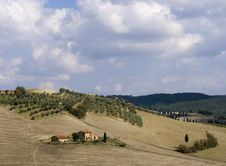 Free Tuscan Landscape, Hills View Stock Photos - 6631523