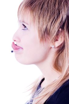 Free Funny Pierced Girl Stock Images - 6632094
