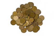 Free Coins Of Ukraine Royalty Free Stock Photos - 6632358