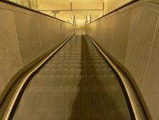 Free Escalator Royalty Free Stock Image - 6632426
