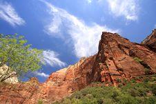 Free Cliffs In Zion Stock Photos - 6632673