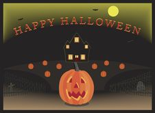 Halloween Pumpkin Patch Stock Image