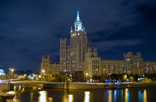Free Moscow At Night Stock Photos - 6633003