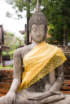 Free Budda Statue In Ancient City Royalty Free Stock Photography - 6633087