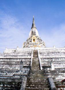 Religious Thai Monument Stock Photography
