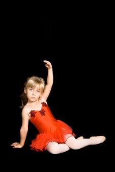 Free Tiny Ballerina Royalty Free Stock Photo - 6633785