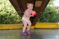 Free Plays A Ball Stock Photos - 6634163