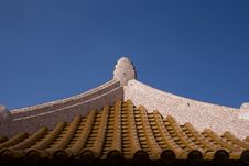 Free Chinese Roof Top Royalty Free Stock Photos - 6634508