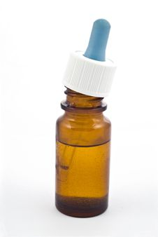 Free Vial Of Nasal Drops Stock Photography - 6634812