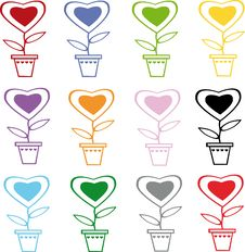 Free Hearts Royalty Free Stock Images - 6634829