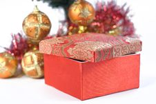 Free Present Under The Christmas Tree Stock Images - 6635034
