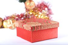 Free Present Under The Christmas Tree Stock Photos - 6635083
