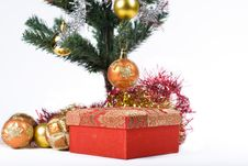 Free Present Under The Christmas Tree Royalty Free Stock Photo - 6635085