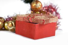 Free Present Under The Christmas Tree Stock Photos - 6635293
