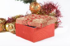 Free Present Under The Christmas Tree Stock Images - 6635364