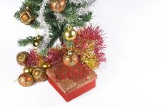Free Present Under The Christmas Tree Royalty Free Stock Photo - 6635515