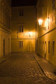Free Night Prague Scenery Stock Images - 6635664