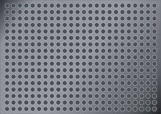 Free Metalic Background With Holes Royalty Free Stock Photo - 6635895