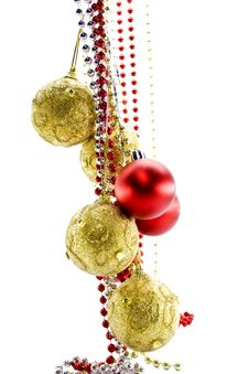 Free Christmas-tree Decorations Royalty Free Stock Image - 6636236