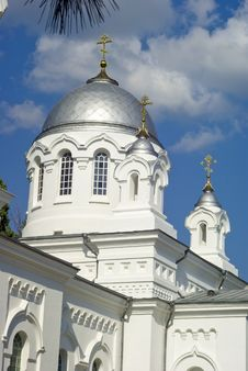 Ascension God Church Dome Stock Photography