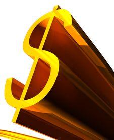 Free Dollar Royalty Free Stock Image - 6636316