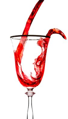Free Glass And Red Wine Stock Photos - 6636633