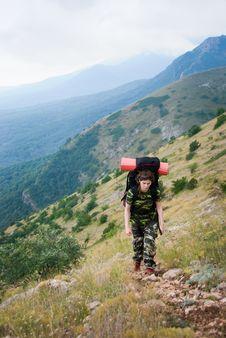 Free Hiker Stock Photo - 6636960