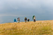 Free Hikers Royalty Free Stock Images - 6637119