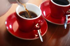 Free Cup Of Coffee Royalty Free Stock Photography - 6637157