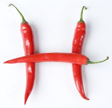 Free Chillies Royalty Free Stock Photo - 6637995