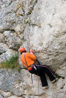 Free Climber Stock Photos - 6638113