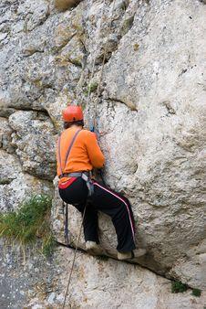 Free Climber Royalty Free Stock Image - 6638126