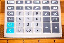 Free Calculator Royalty Free Stock Image - 6638426