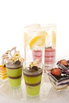 Free Sparkling Water And Confectionery Stock Photos - 6638463