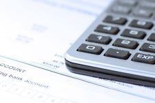 Free Calculator Royalty Free Stock Photo - 6639115